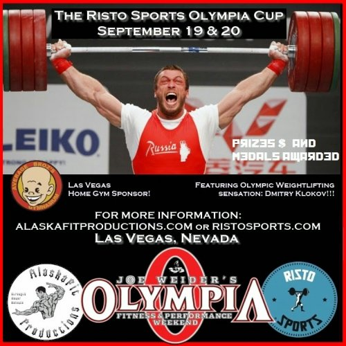 OLYMPIC WEIGHTLIFTING и другие забавы на Олимпии 2014