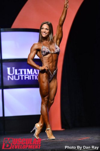 Оксана Гришина стала победительницей Fitness Olympia 2014