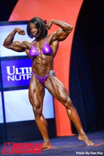 Айрис Кайл выиграла свой десятый титул «Мисс Олимпия»!