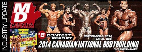 Отчет с 2014 Canadian National Bodybuilding Championships