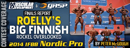 Рулли Винклаар выиграл Nordic Pro 2014!