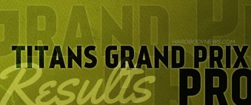 Результаты турнира «2014 IFBB Titans Grand Prix Pro»