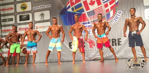 Результаты 2014 WORLD FITNESS CHAMPIONSHIPS