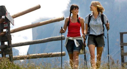 Тренировки в домашних условиях: скандинавская ходьба