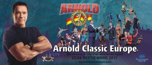 Списки участников Arnold Classic Europe 2017